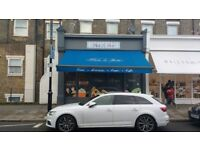 Electric shop awning