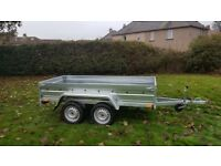 New Trailer 8.7 x 4.2 twin axle £970 INC VAT