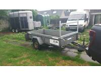 stunning indespension 8ftx4ft braked cargo trailer