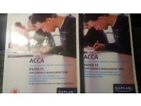 ACCA F5- Sep 2017- June 2018 Used but Very Good Condition