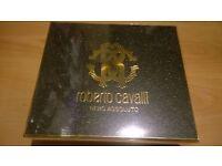 ROBERTO CAVALLI NERO ASSOLUTO Gift Set EDP Spray 50ml and Body Lotion 75ml