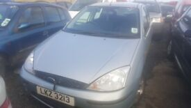 2003 FORD FOCUS ZETEC 1.8 DIESEL BREAKING FOR PARTS ONLY POSTAGE AVAILABLE NATIONWIDE