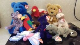 Job Lot of TY Beanie Buddies and Babies