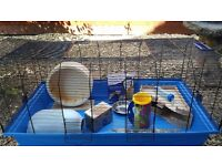 Large Hamster Cage + Accessories