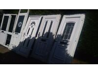 large big bundle of upvc doors FREE delivery 20 mile radius 5 doors