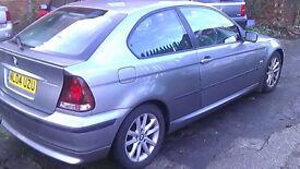 BMW 3 SERIES 1.8 HATCHBACK 2004 £750