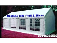 Marquee/Tent/Gazebo Rental/Hire from £150 Plus. Folding Chair hairs Hire £1.
