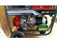 Senci SC6000C 5kw continuous output diesel generator