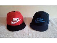 *** Nike Snapback Caps (2 Caps) - £25 ***