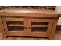 Oak TV Cabinet ( new )