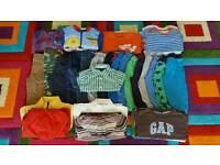12-18 months baby boy clothes bundle #55 items