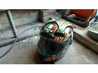 AGV motorcycle helmet race replica size small