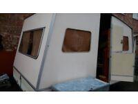 Rapido Confortmatic folding caravan vintage 1980s retro