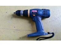 Ryobi 18v Battery Drill.