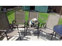 for sale four patio chairs