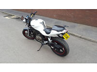 HYOSUNG GT 125 COMET NAKED 2011 WHITE 9900 MILES VGC