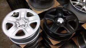 "$75 each Toyota RAV4 / Venza /  Highlander  - 17"" OEM rims 5 x 114.3 / 245 65 17 Michelin XIce on rims TPMS  - $1400"
