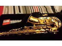 GREAT CONDITION YAMAHA YAS280 ALTO SAXOPHONE. WITH TUITION BOOK AND EVERYTHING YOU NEED TO PLAY!
