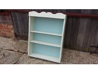 Vintage Painted Shabby Chic Shelf Wall Shelves Dresser Top Adjustable Shelves LEWES COLLECTION