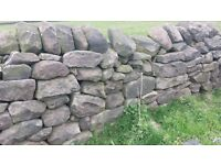 Dry Stone Walling - Reclaimed