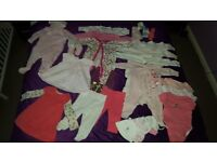 Baby Girl clothes bundle 3-6 month