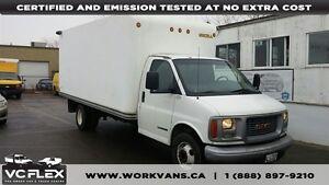 2002 GMC Savana G3500 6.5L Diesel 16Ft Box