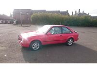 FORD ESCORT XR3I 1989