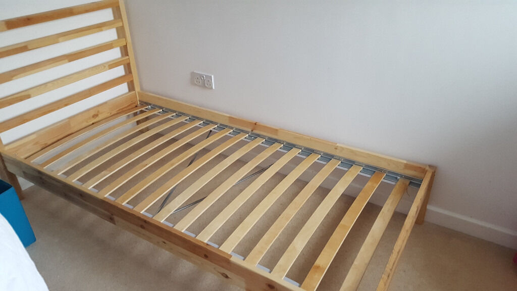 single bed frame ikea tarva with slatted bed frame lury and mattress - Ikea Single Bed Frame