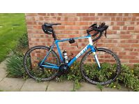 Only 6 months old. Giant Defy 3 Bicycle. Upgrade Fulcrum Wheels....and accessories.