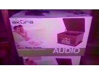 New Akura Retro Style Music Center £55