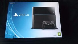 Sony PlayStation 4 PS4 500 GB Jet Black Console
