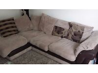Very comfortable 3 seater DFS corner sofa for sale - £250 ONO