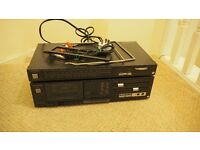 Technics Stereo Tuner and Cassette Desk Unit (including wires) - £5