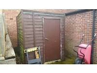 Shed and doors