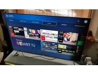 SAMSUNG 55-inch SUPER Smart SUHD QUANTUM DOT DISPLAY 4K LED TV-55KS7000,WifiPLS READ DESCRIPTION
