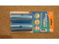 Angelcare on the go nappy bag refills - unopened