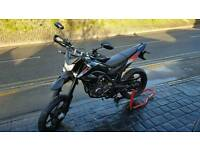 KSR MOTO TW125 SUPERMOTO (STILL HAS WARRANTY)