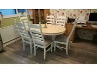 Impressive oval table set