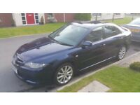 2007 MAZDA 6 TAMURA 2.0, ONLY 58K WITH FULL MOT & EXCELLENT HISTORY & SERVICED FOR SALE!