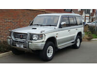 Mitsubishi Pajero Exceed 2.8 TD (Diesel) Auto (1995/N Reg) + LWB + White/Gold + Leather + High Spec