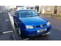 Volkswagen bora 2002 130bhp 6 speed
