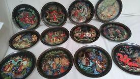 tianex plates-russian legends