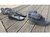 Ladies/Womens shoes 3 pairs