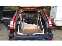 Car Dog Cage Hand Made to fit Honda CRV mk3 57 Plate