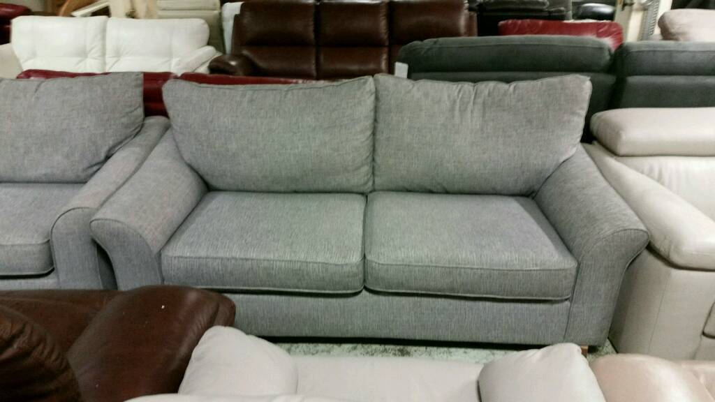 Grey fabric 3 seater sofa and chairin Burnley, LancashireGumtree - Grey fabric 3 seater sofa and chair We sell a large variety of hi end ex display sofas Based in Burnley with a delivery service viewing welcome dont hesitate to contact me on 07463663200