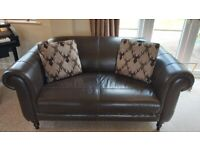 Leather sofas dfs for Sale in Nottingham, Nottinghamshire