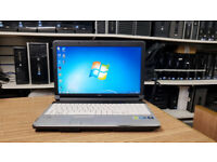 Fujitsu Lifebook A530-Core i3 M370 2.40GHz 4GB Ram 320GB Win 7 Pro Laptop