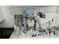 Star wars lego one off display