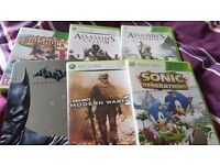 Xbox 360, 2 controllers and 12 games
