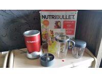 NutriBullet 600W Juicer Blender Nutrition Extractor-8 PCS SET new